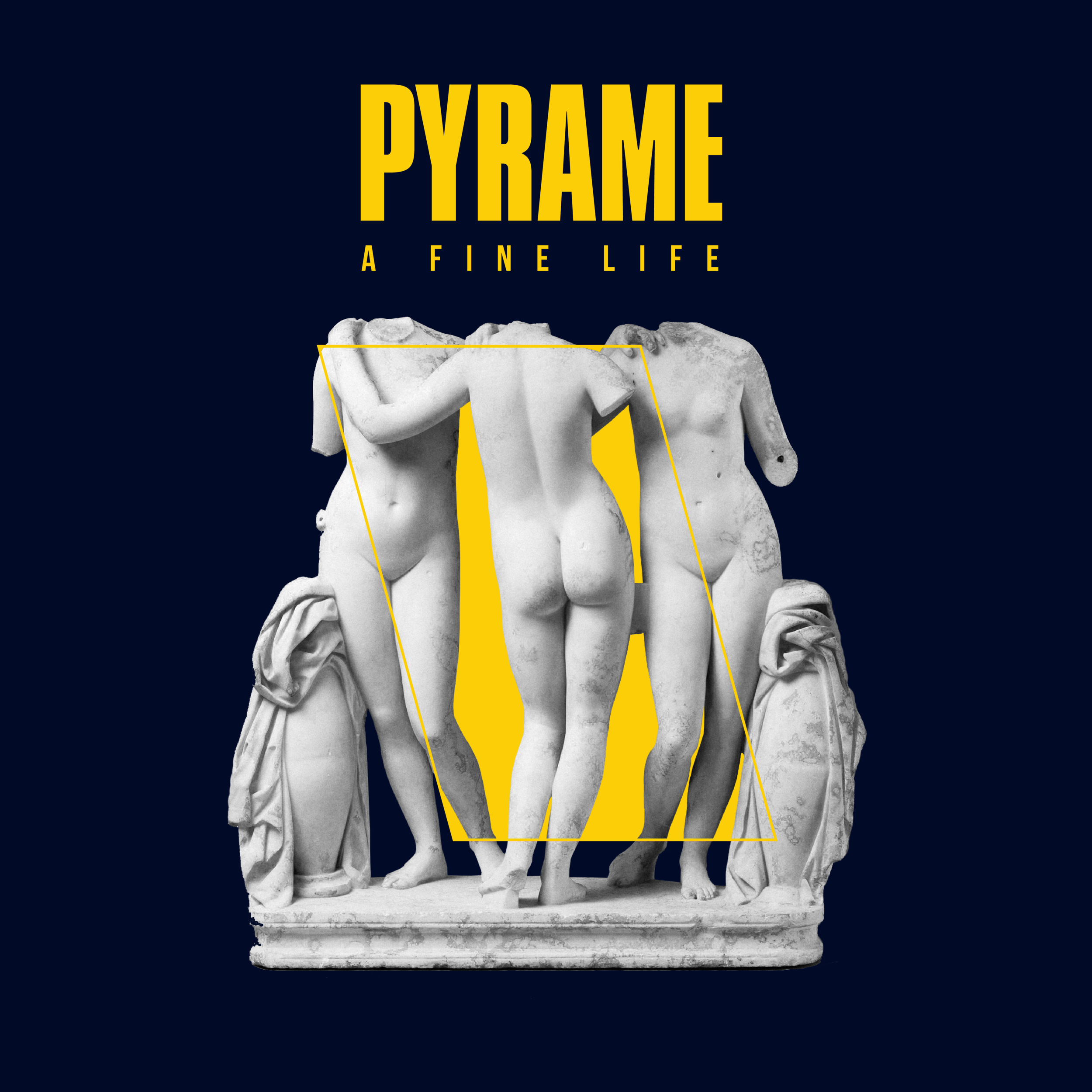 PYRAME A Fine Life EP Artwork - by Christoffer Budtz