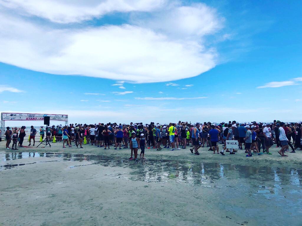 The 2018 Chemo Noir 1 Mile & Tasting Event on Jacksonville Beach.