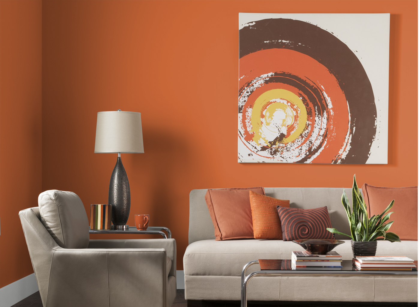 Adorable-Design-Of-The-Orange-Living-Room-With-Orange-Wall-Added-With-Grey-Sofa-Ideas-And-Glass-Table-Ideas.jpg