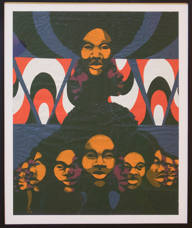 Barbara Jones-Hogu (1938-2017), High+Priestess, 1971, Screenprint on wove paper, 22 x 15 inches
