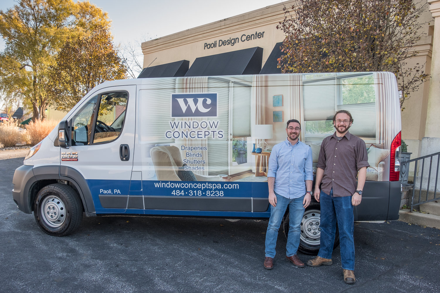 Our expert installers, Josh (right) and Andrew (left)