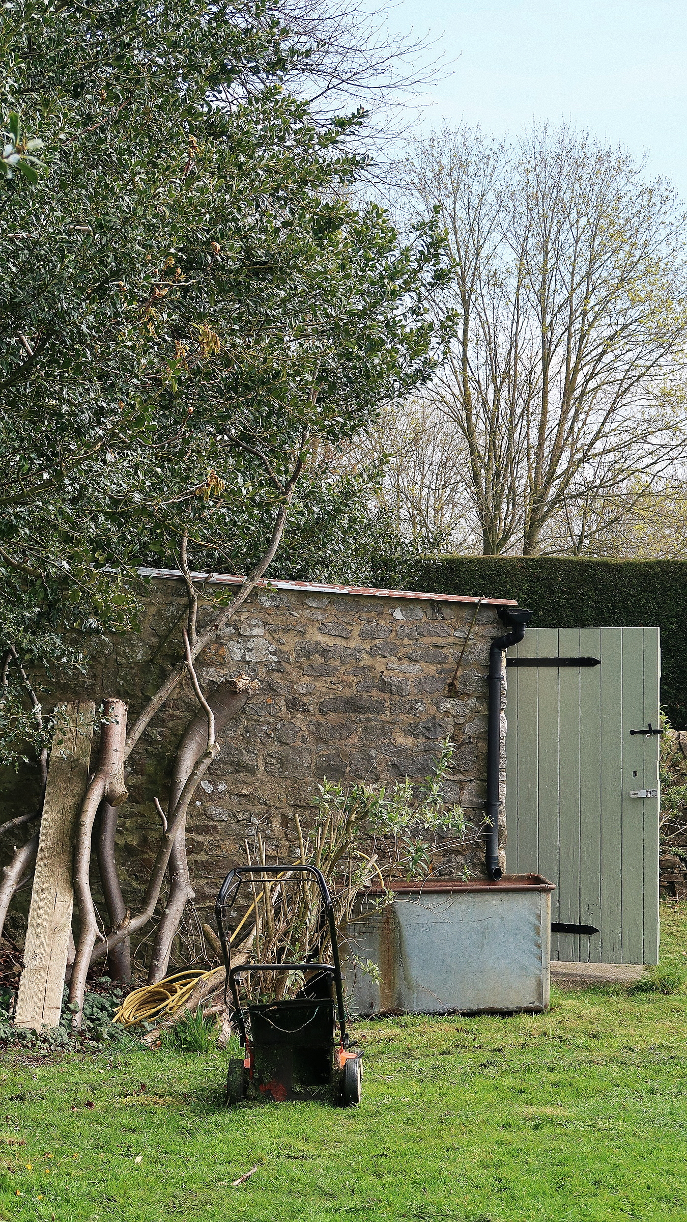 THE LITTLE STONE SHED -