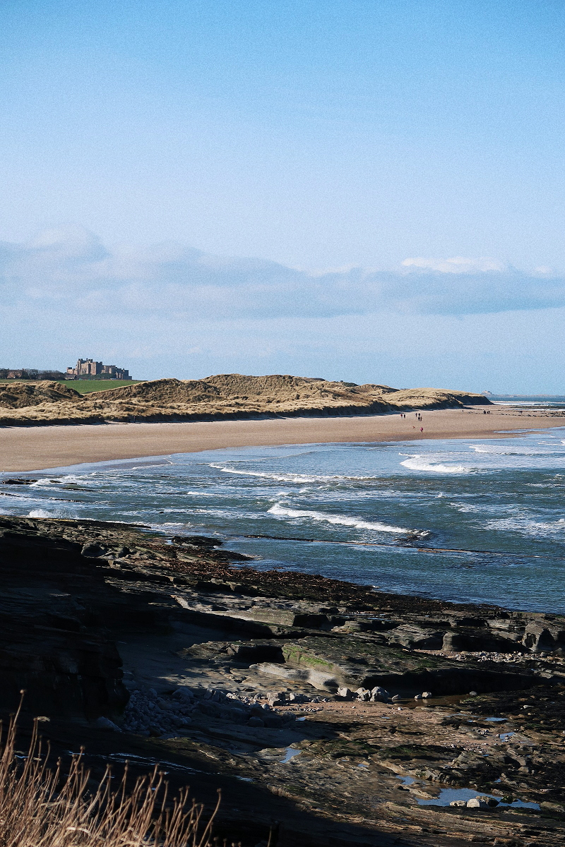FROM NEWCASTLE TO BAMBURGH -