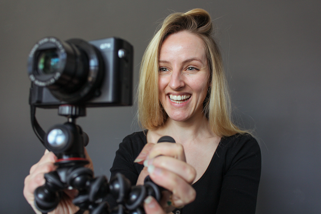 Female videographer Candid Films based in Manchester UK
