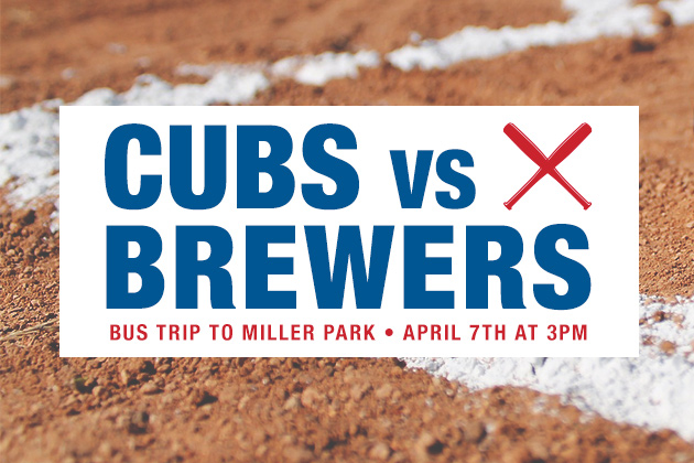 Cubs vs Brewers Bus Trip '18