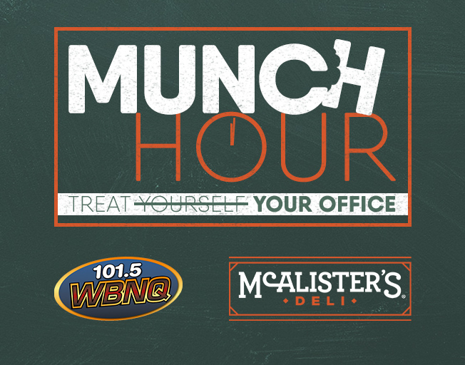 Much Hour With McAlister's Deli Giveaway '19