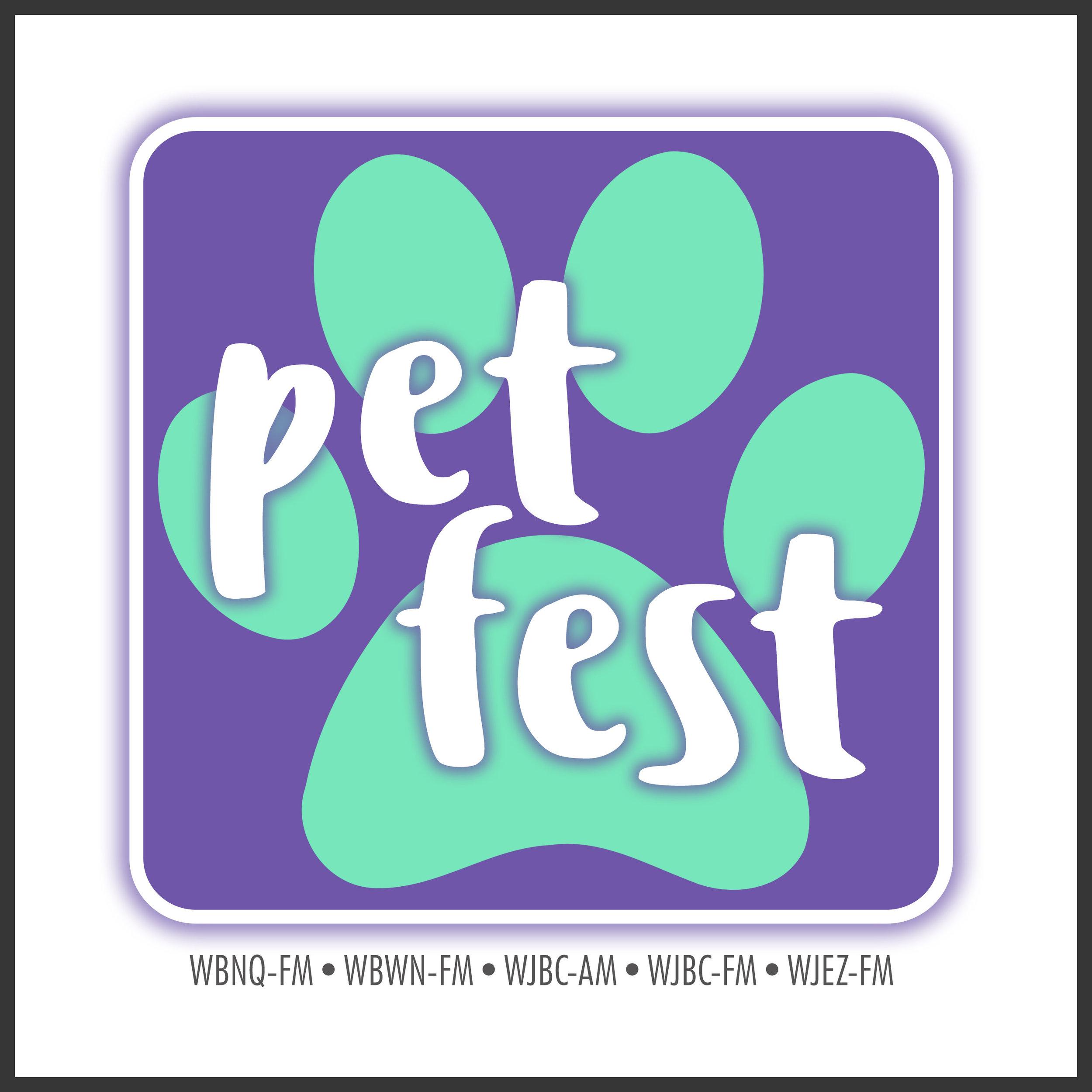 Cumulus Bloomington Pet Fest Logo 2018