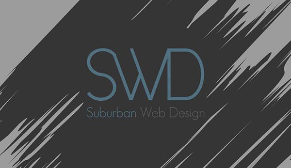 Suburban Web Design Logo 2012