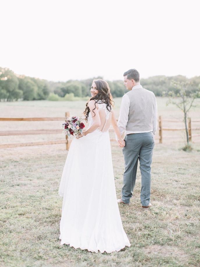 Bride and Groom by Pasture.jpg