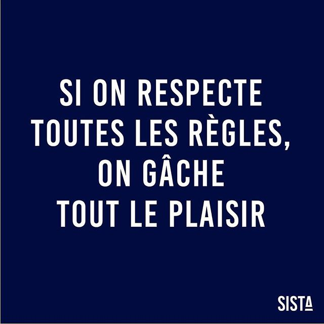 Si on respecte toutes les règles, on gâche tout le plaisir ! 🙏🏽 Katherine Hepburn Bon dimanche les #SISTA ! 💙 . . . . #sista #wearesista #genderdiversity #sorority #women #entrepreneur #entrepreneurlifestyle #business #bethechange #bethechangeyouwanttosee #life #entrepreneure #sistainspiration #inspiration #courage #skyisthelimit #mantra #mantraoftheday