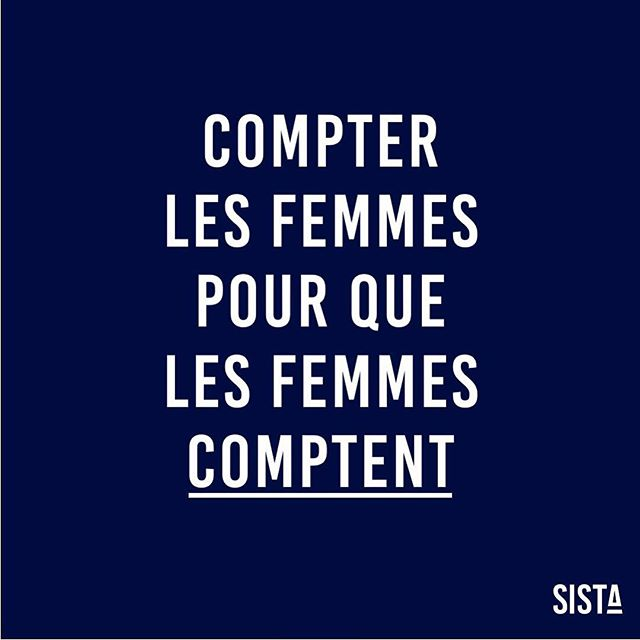 COMPTER LES FEMMES, POUR QUE LES FEMMES COMPTENT ! 💙 Retrouvez notre dernière tribune publiée dans #lesechos lien dans la bio 💪🏽 . . . #sista #entrepreneurlife #womenintech #bethechangeyouwanttosee #startuplife #fundinggap #wearesista #sorority #women #entrepreneur #entrepreneurlifestyle #business #bethechange #life #entrepreneure