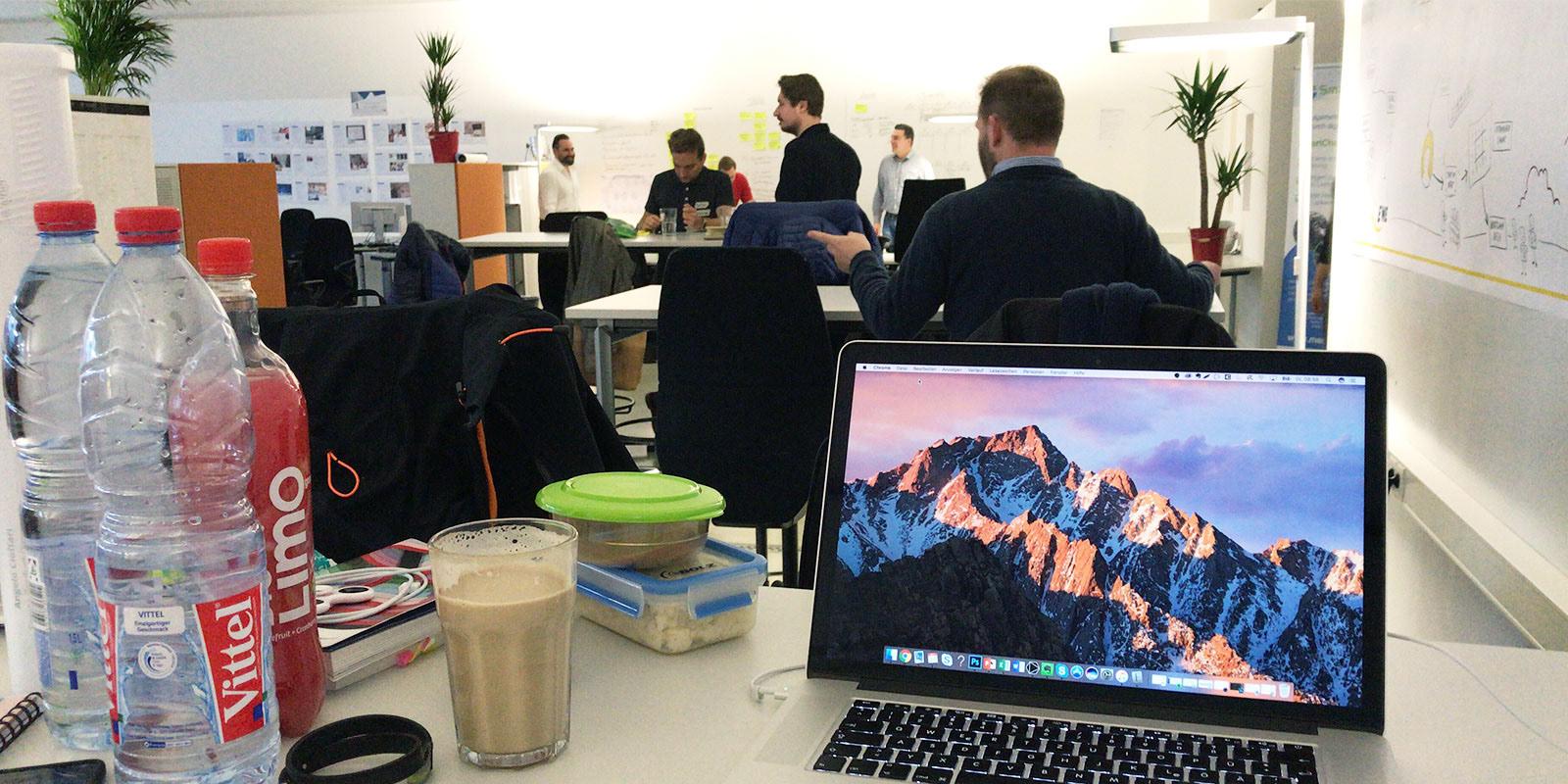 Agile Arbeitsplätze im Innovation Bootcamp