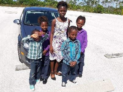 Madlyn's children, Mark, Kendalina, Kendrick, Matthew, & Luke