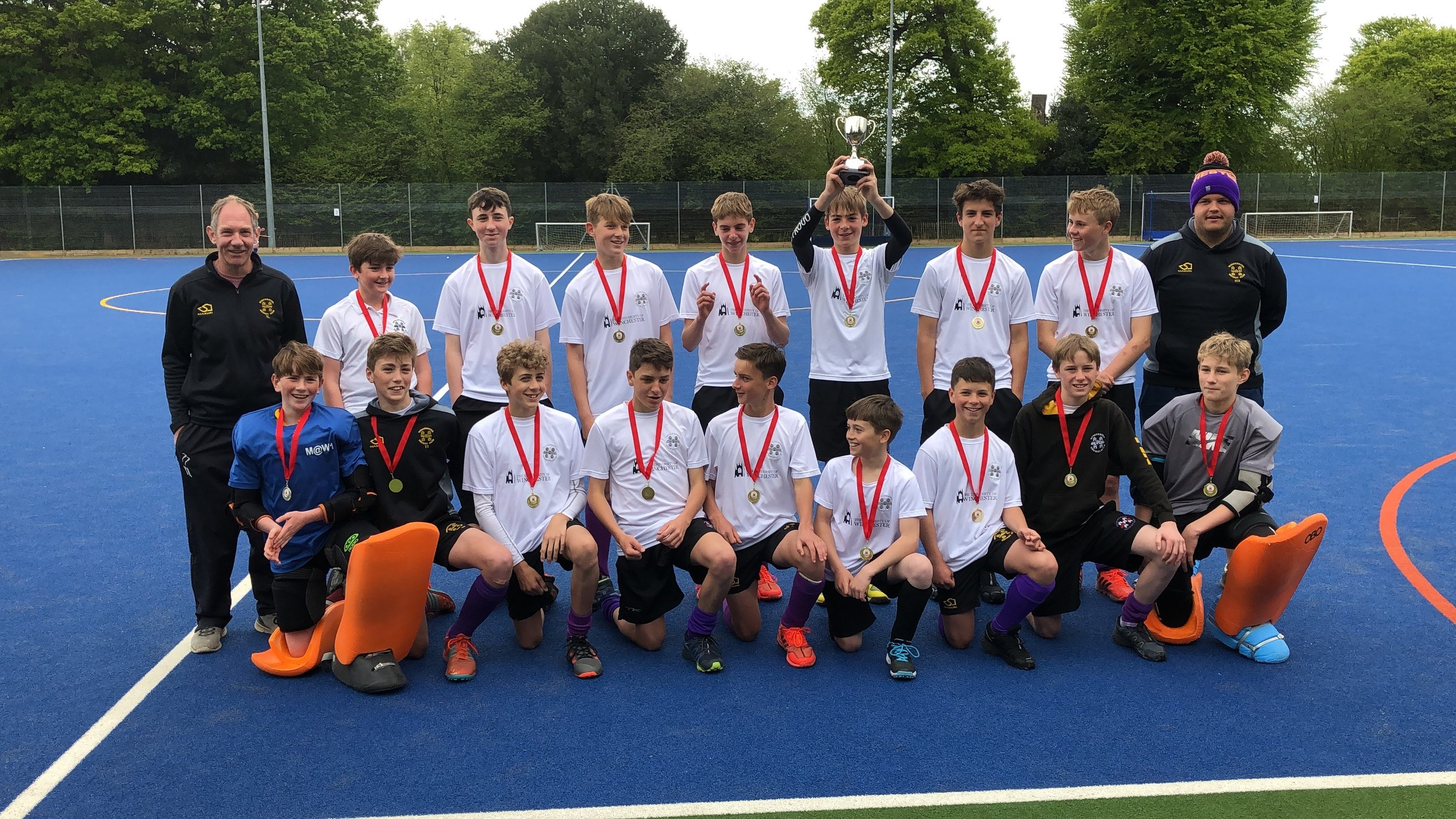 Monday 6th May 2019 - Hampshire U14 Cup winners