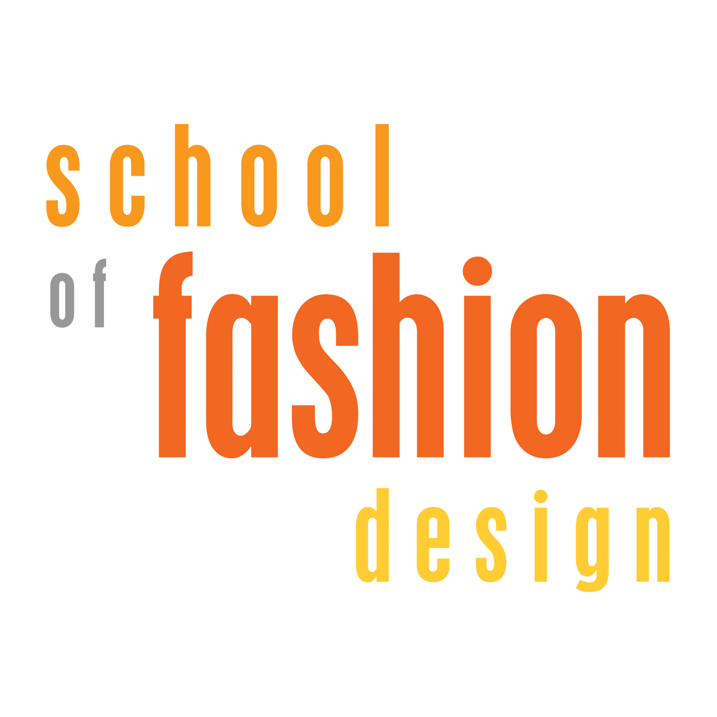 School of Fashion Design Logo
