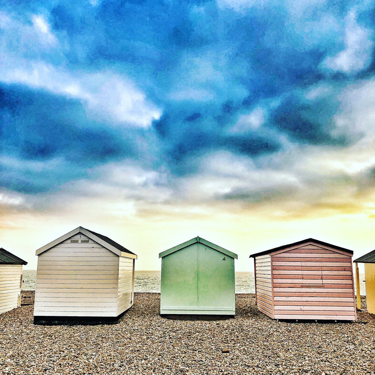 Beach Huts Shoreham