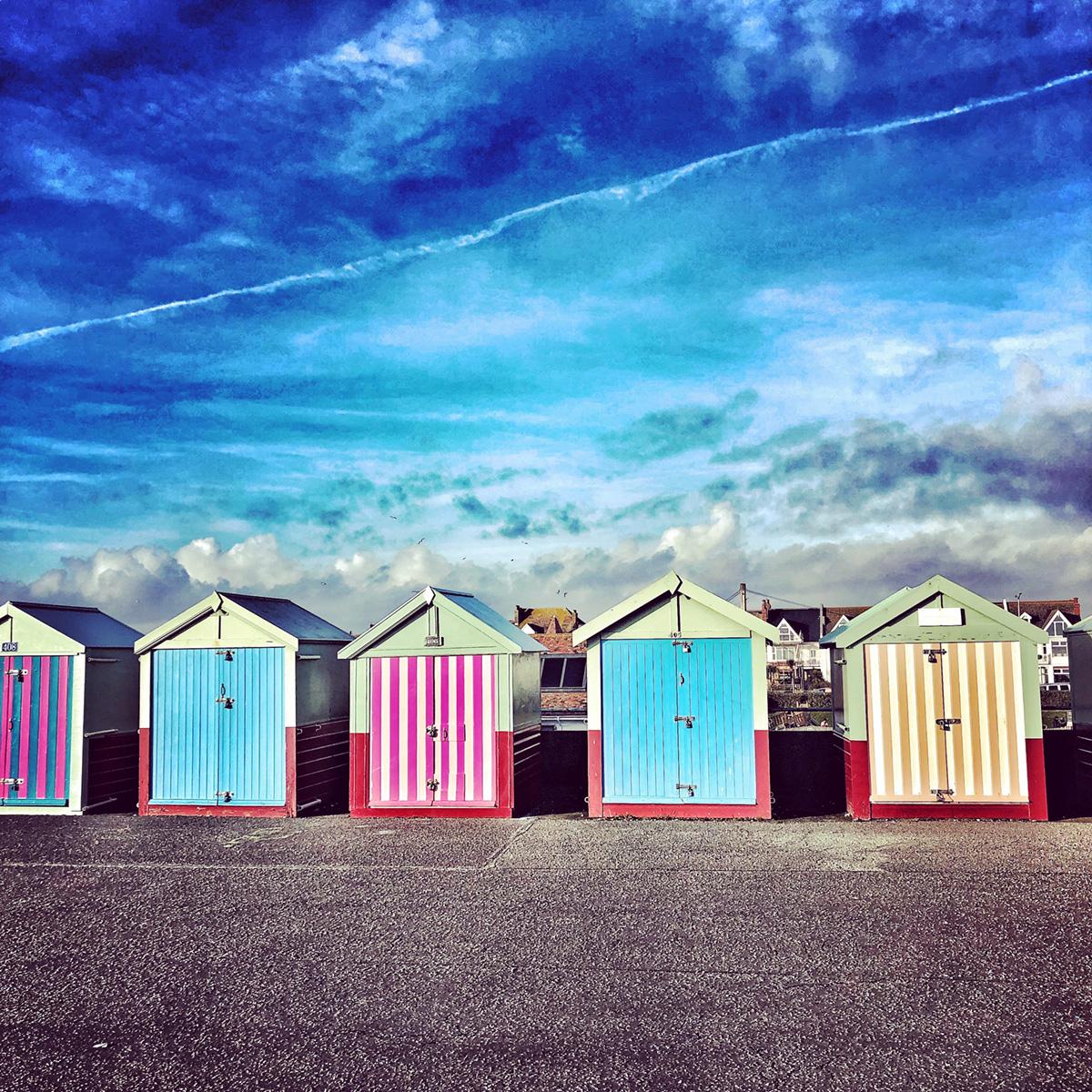 Beach Huts Hove