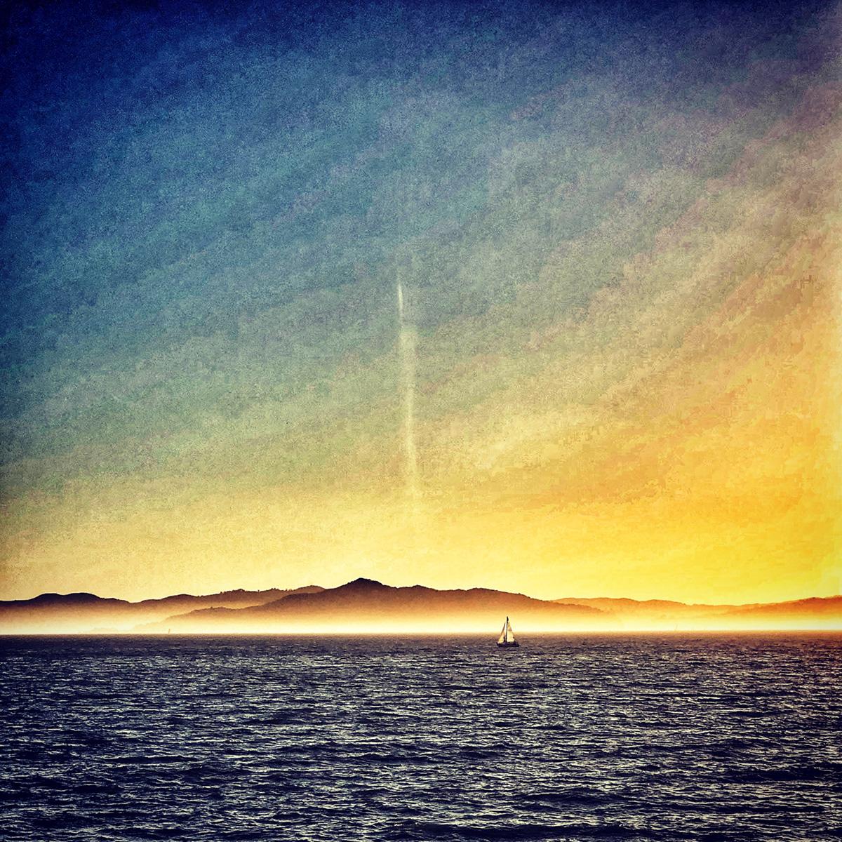 Sailboat at Sunset 2