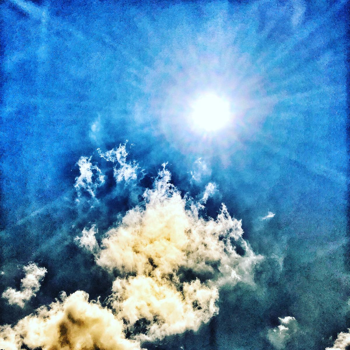 Fluffy Blue Sky 2