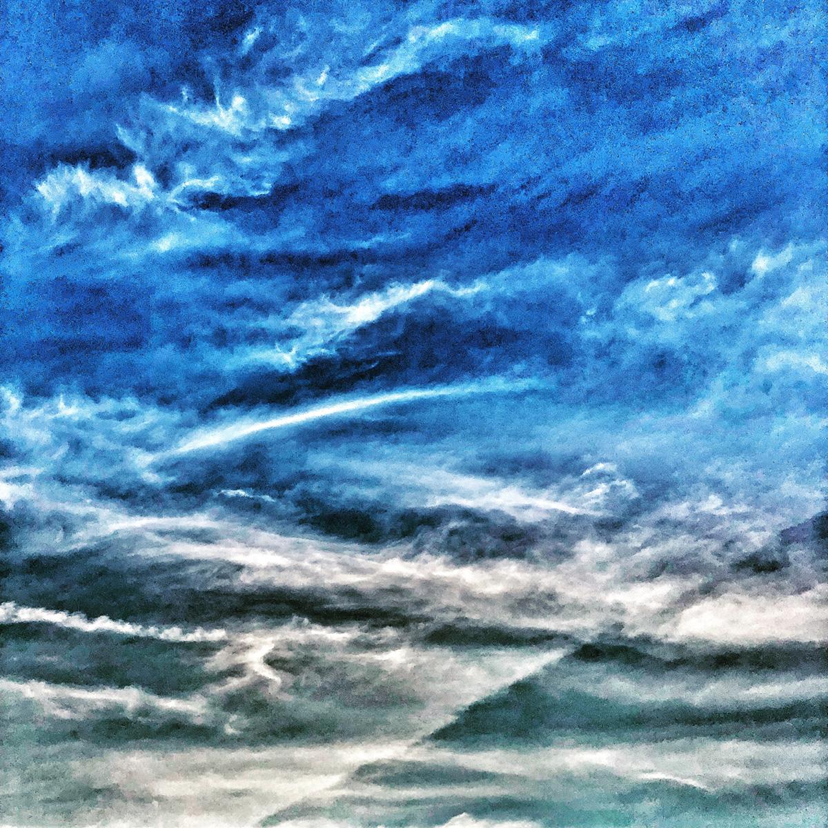 Grey Blue Sky