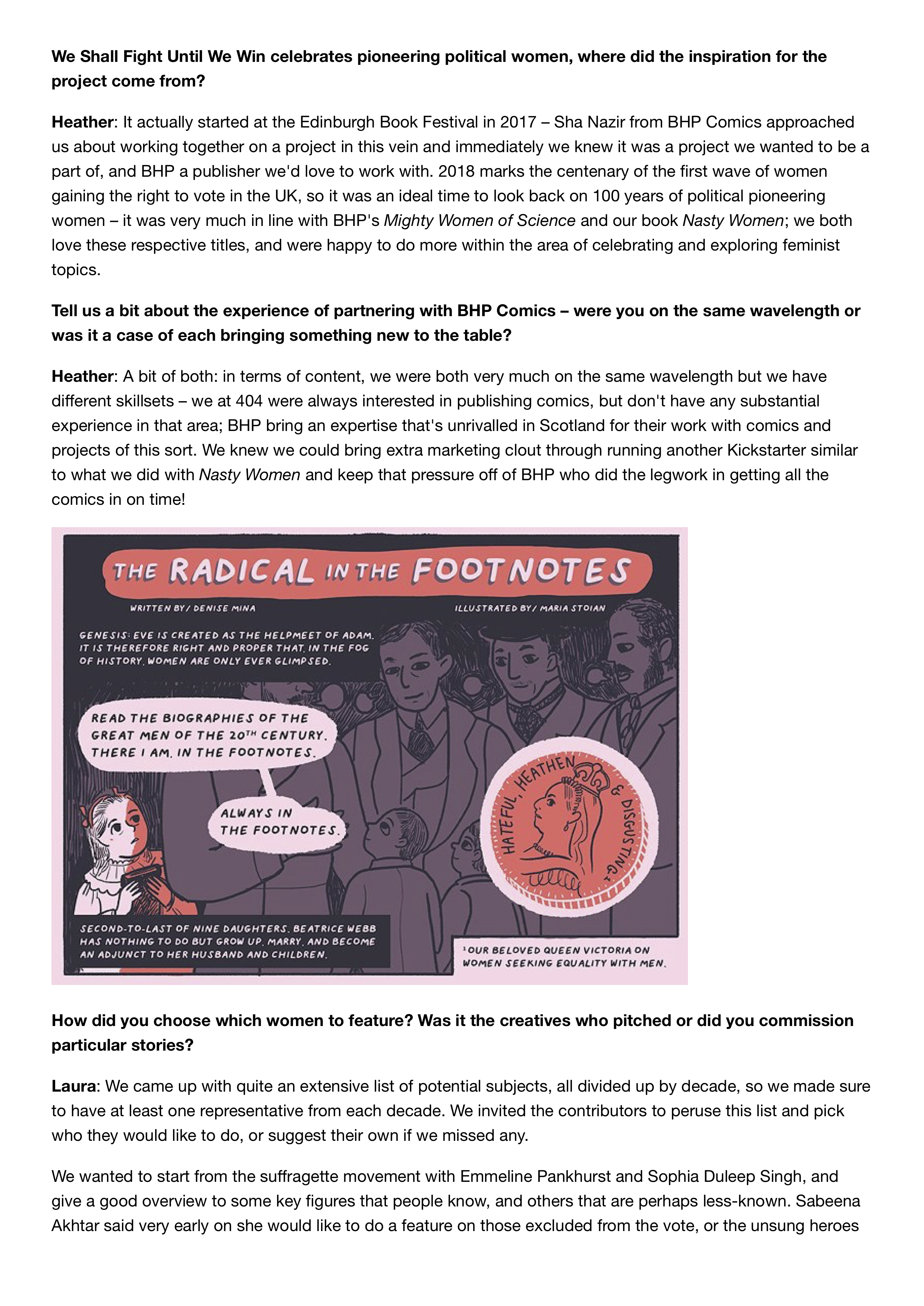 404 Ink and BHP Comics celebrate 100 years of political pioneering women _ The List 2.png
