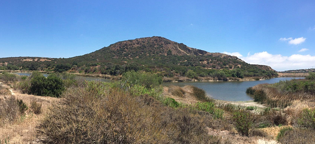 City of Carlsbad Managed Calavera Trails and the Volcano on CHER CDFW Land