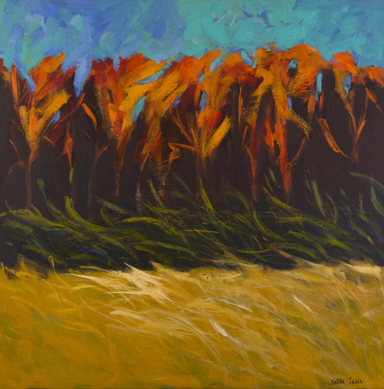 3 - Flaming Trees