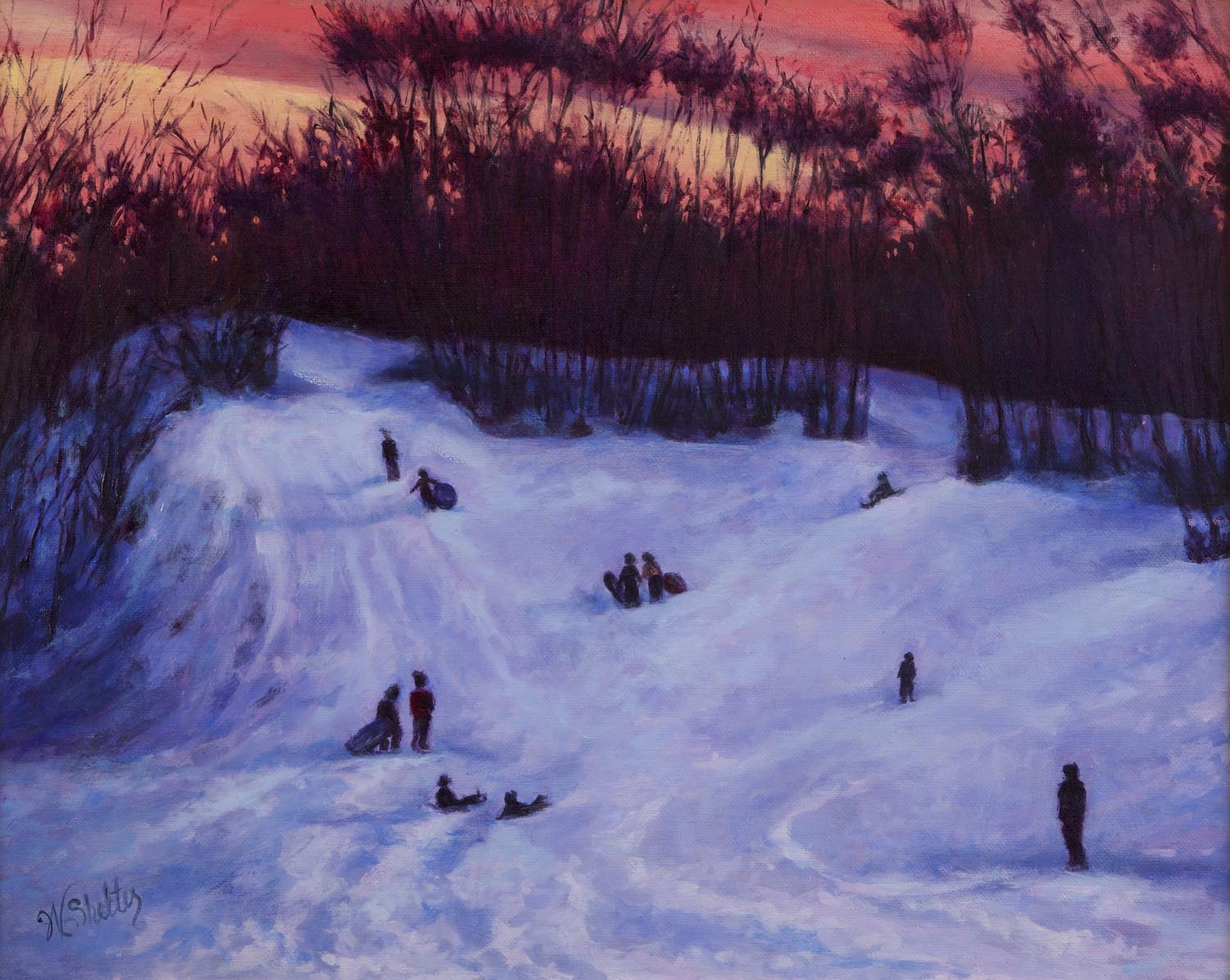 68 - Dusk at March's Hill