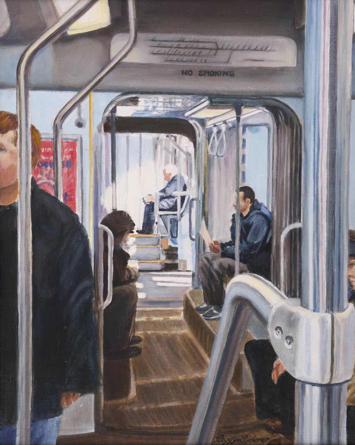 17 - Morning on the Green Line