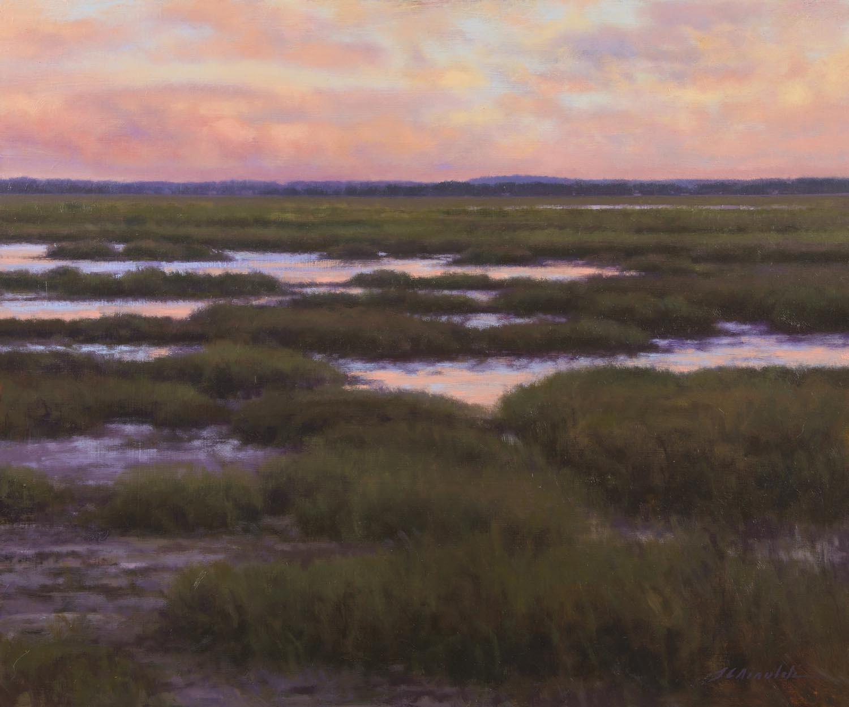31 - Evening Salt Marsh