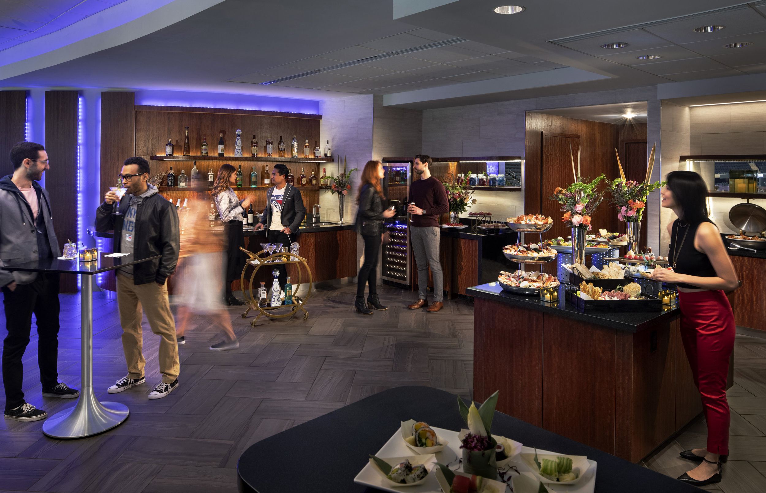 SUITES, LOUNGES, VIP - Our premium hospitality spaces bring you right to the heart of the action. You'll be perfectly placed to witness history as it happens.Call for Premium Experience Offering 212.631.5247
