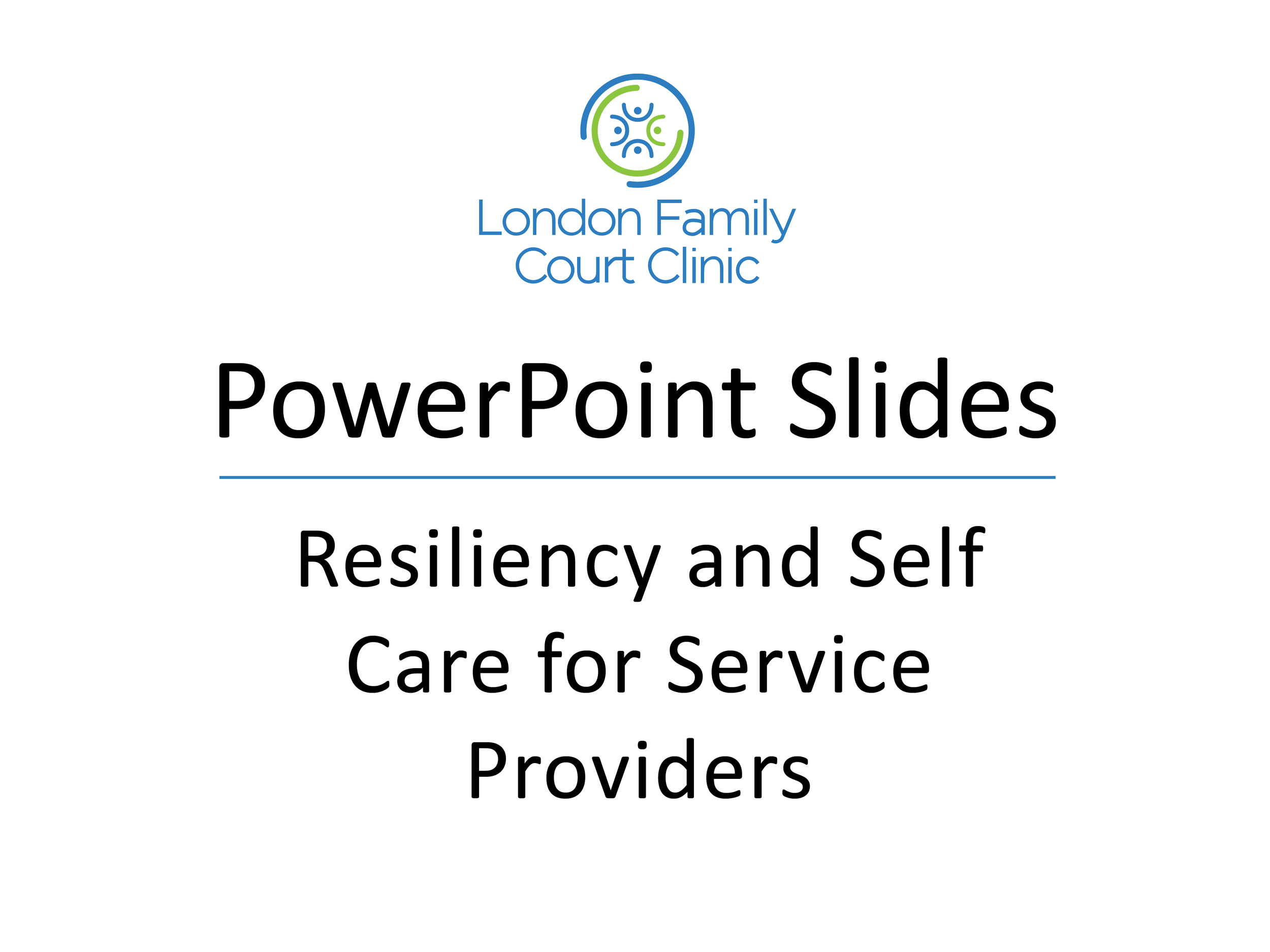 Resiliency and Self Care for Service Providers.png