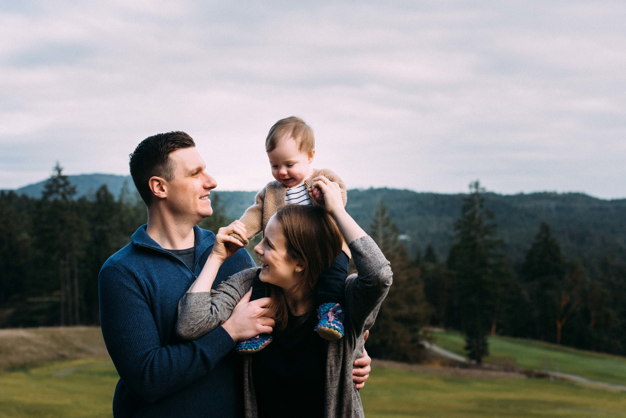 Family Photos Bear Mountain Victoria BC family photographer