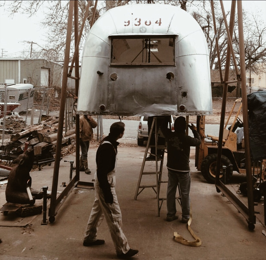 Airstream Renovation pic one .JPG