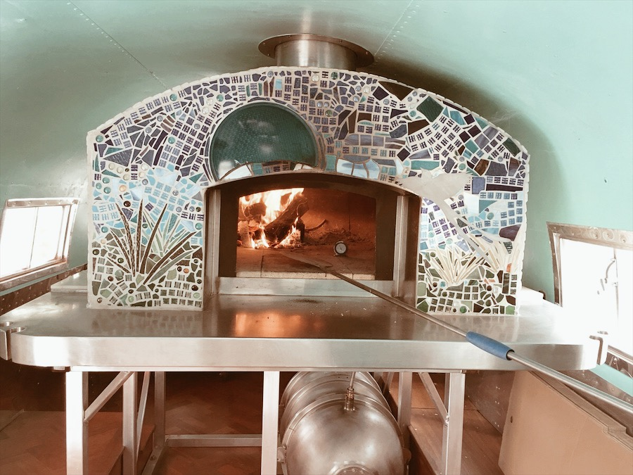Okie Goodness Airstream Wood Fire Oven.JPG