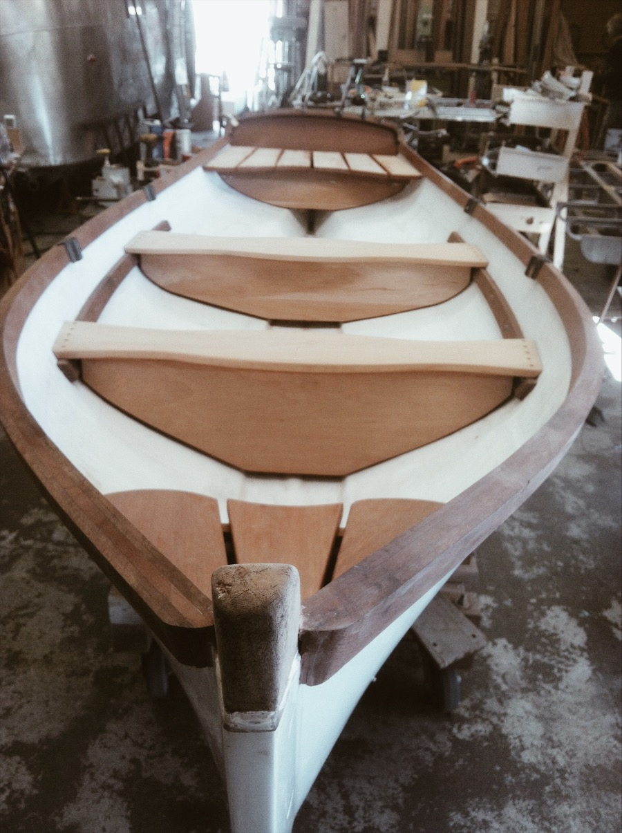 Seaford Skiff  Boat Restoration Tulsa .JPG