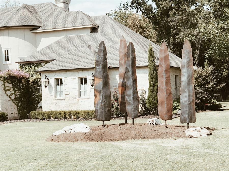 Outdoor metal trees 2 .JPG