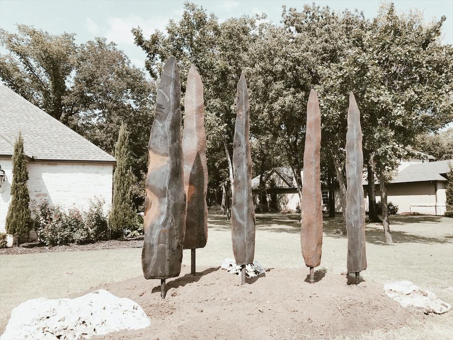 Outdoor metal trees 3.JPG