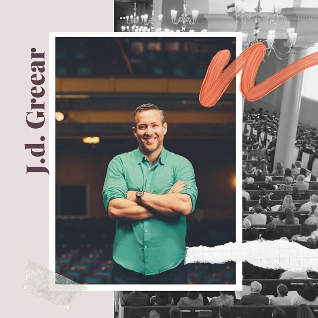▫️Meet our speakers▫️ J.D. Greear is one of our keynote speakers. Follow the link in the bio to learn more about him, and to register now!