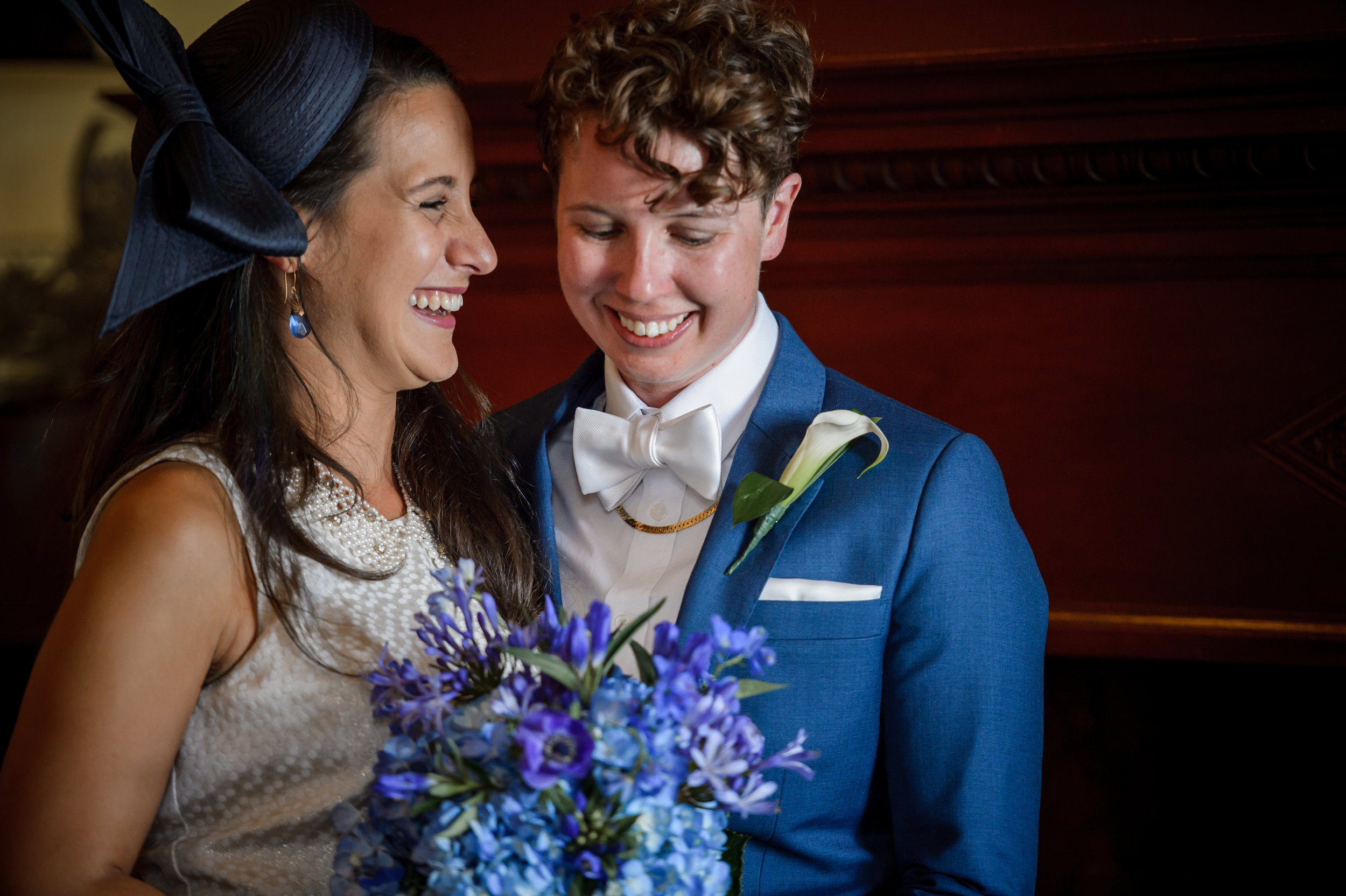 Cambridge City Hall Queer Intimate Wedding
