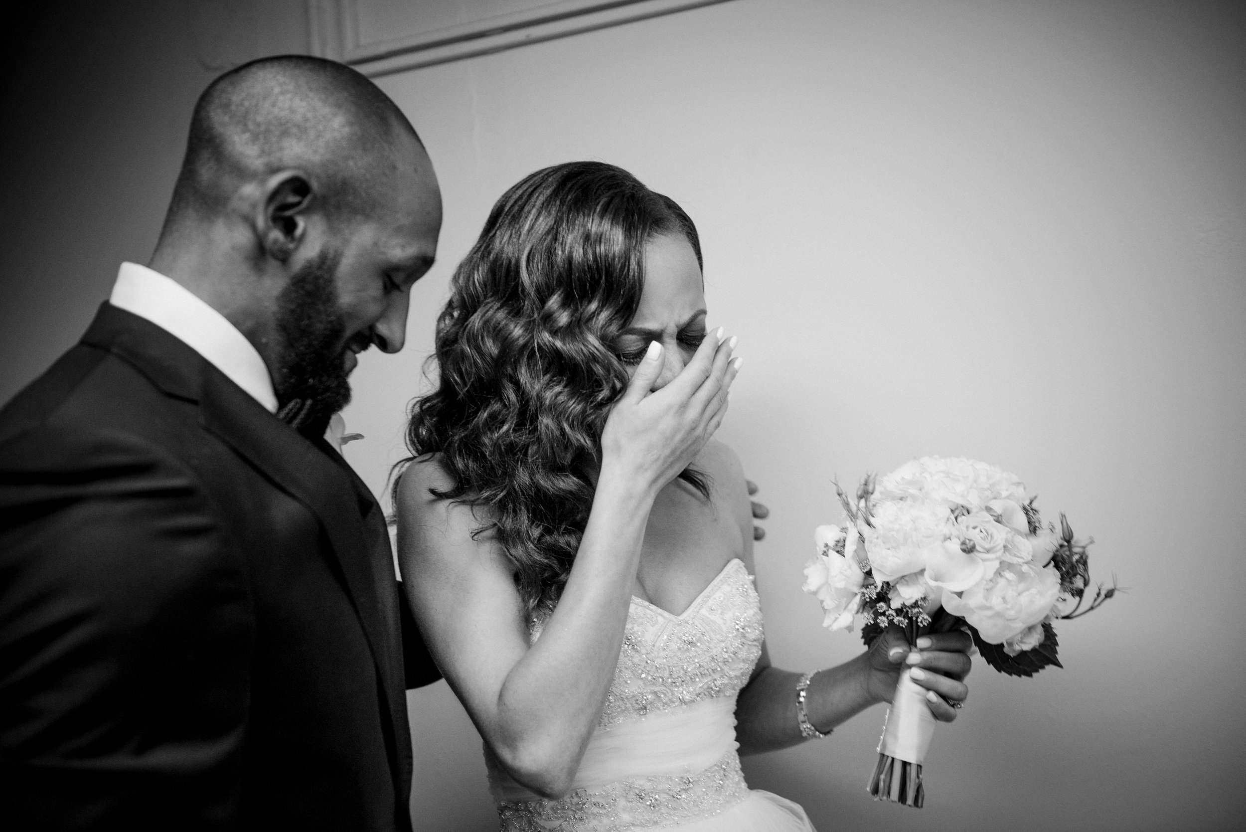 Emotional Response to Being Married MIT Black African-AmericanBoston Wedding
