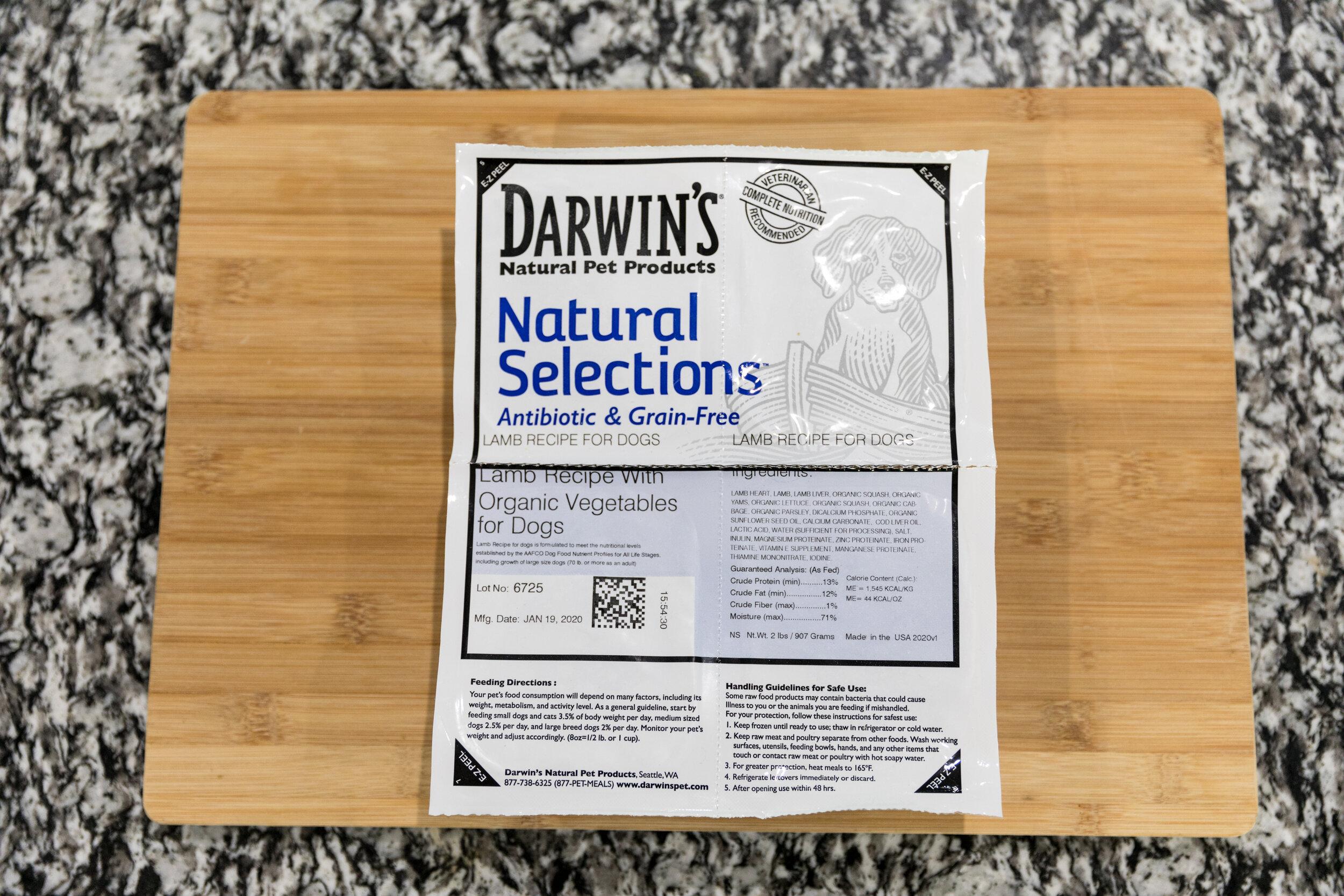 Darwin's Dog Food Review