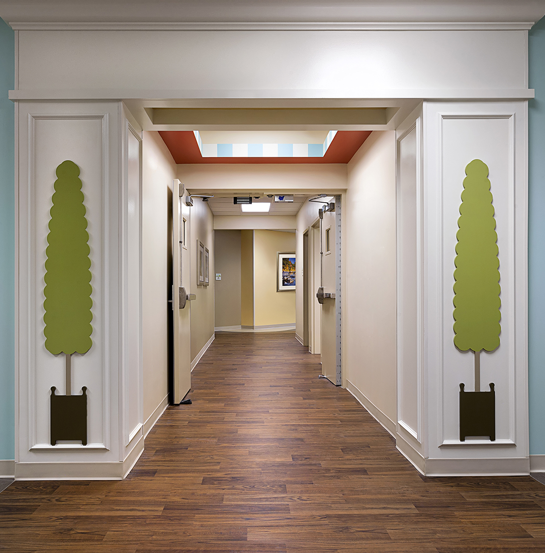 Teknoflor Forestscapes Holly Hill Childrens Hospital corridor.jpg