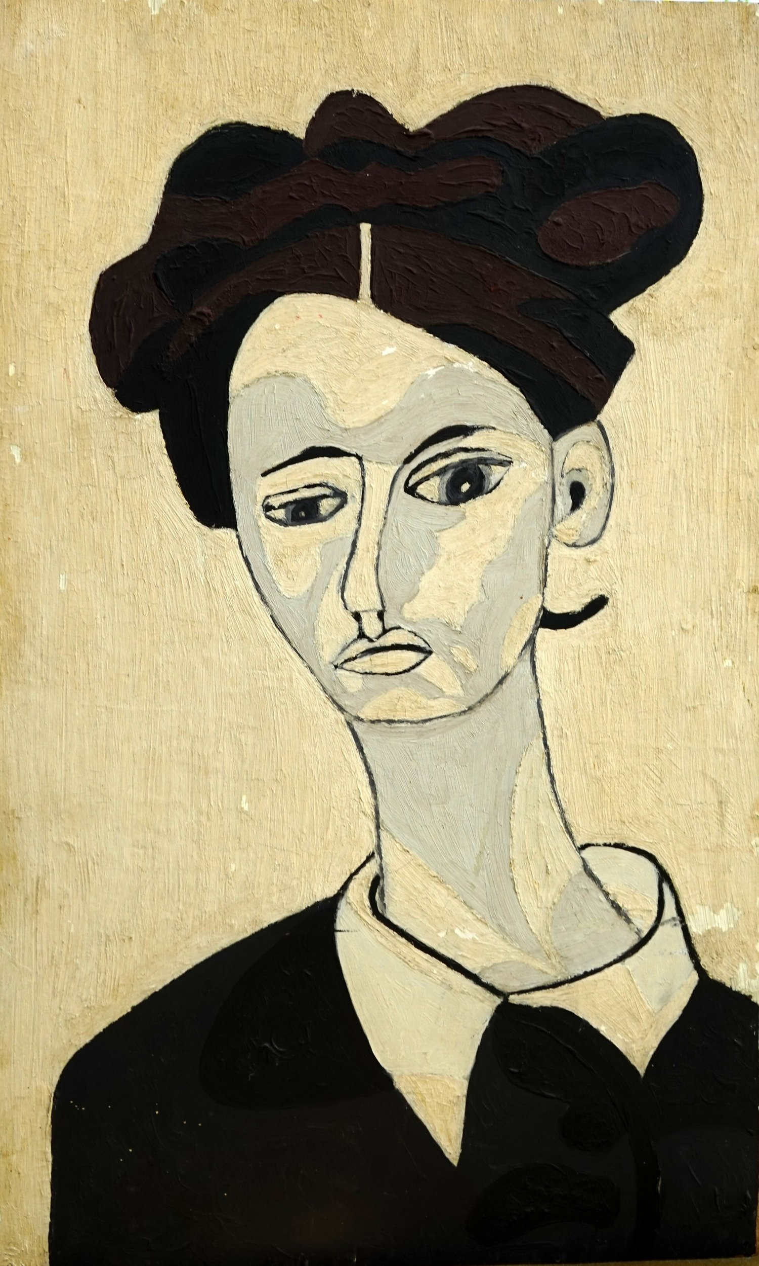When+I+was+18+painted+this+at+evening+class,+influenced+by+Modigliani+,+never+painted+again+until+I+was+65+.jpg