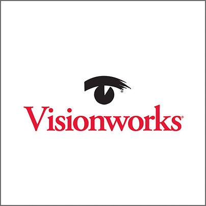 Visionworks  BUY ONE COMPLETE PAIR OF EYEGLASSES, GET A SECOND PAIR FREE!  Limited time only. Other restrictions may apply. See store associate for more details.