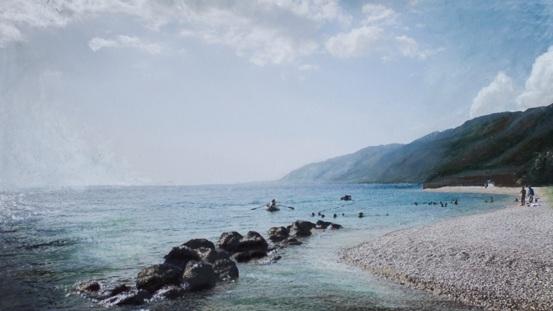 Ocean Landscape from Haiti