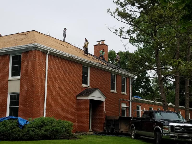 Great news! The new roof project phase II is underway!
