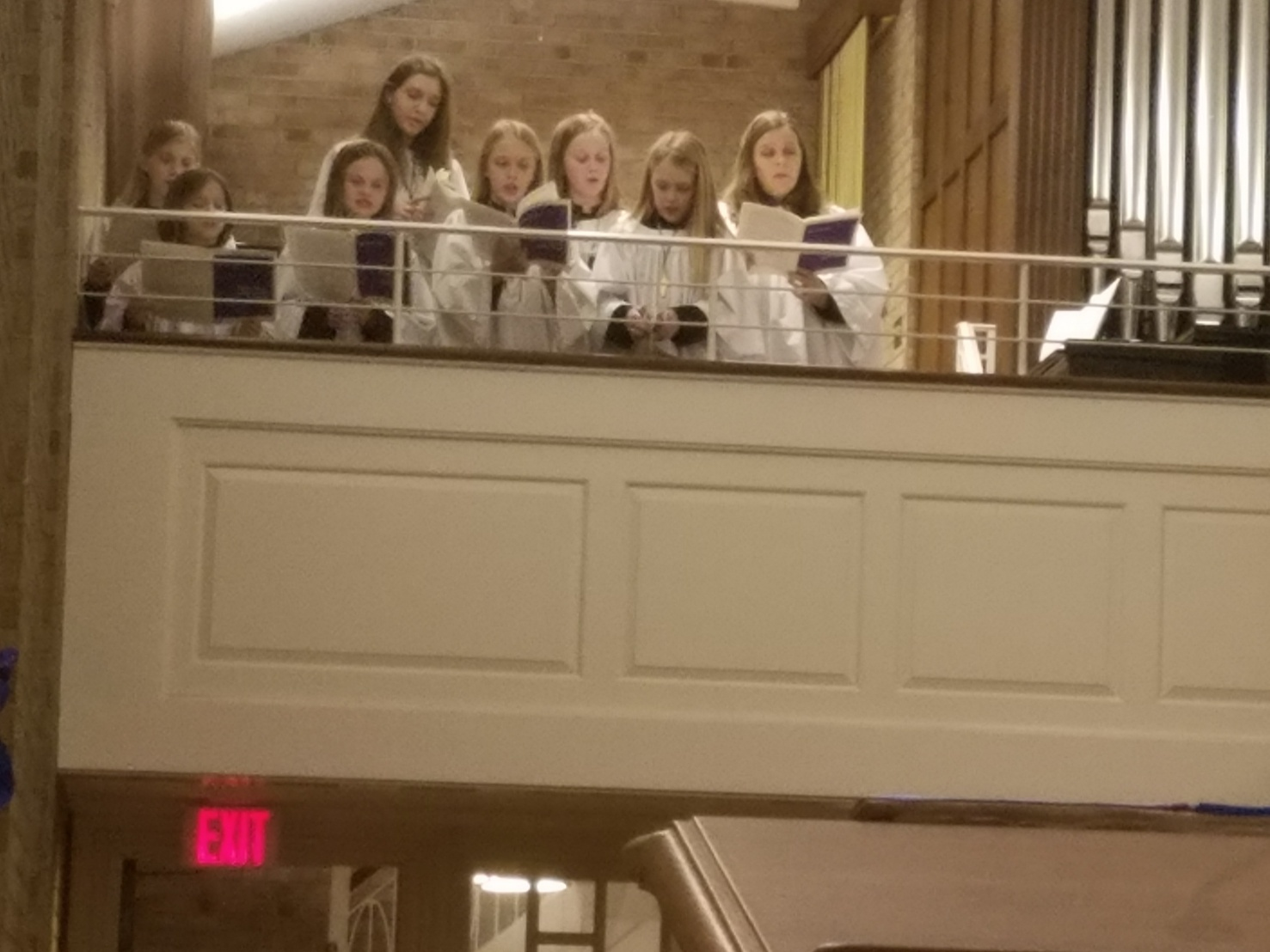 The St. David's Junior Choir sings twice a month at our 9:30 service