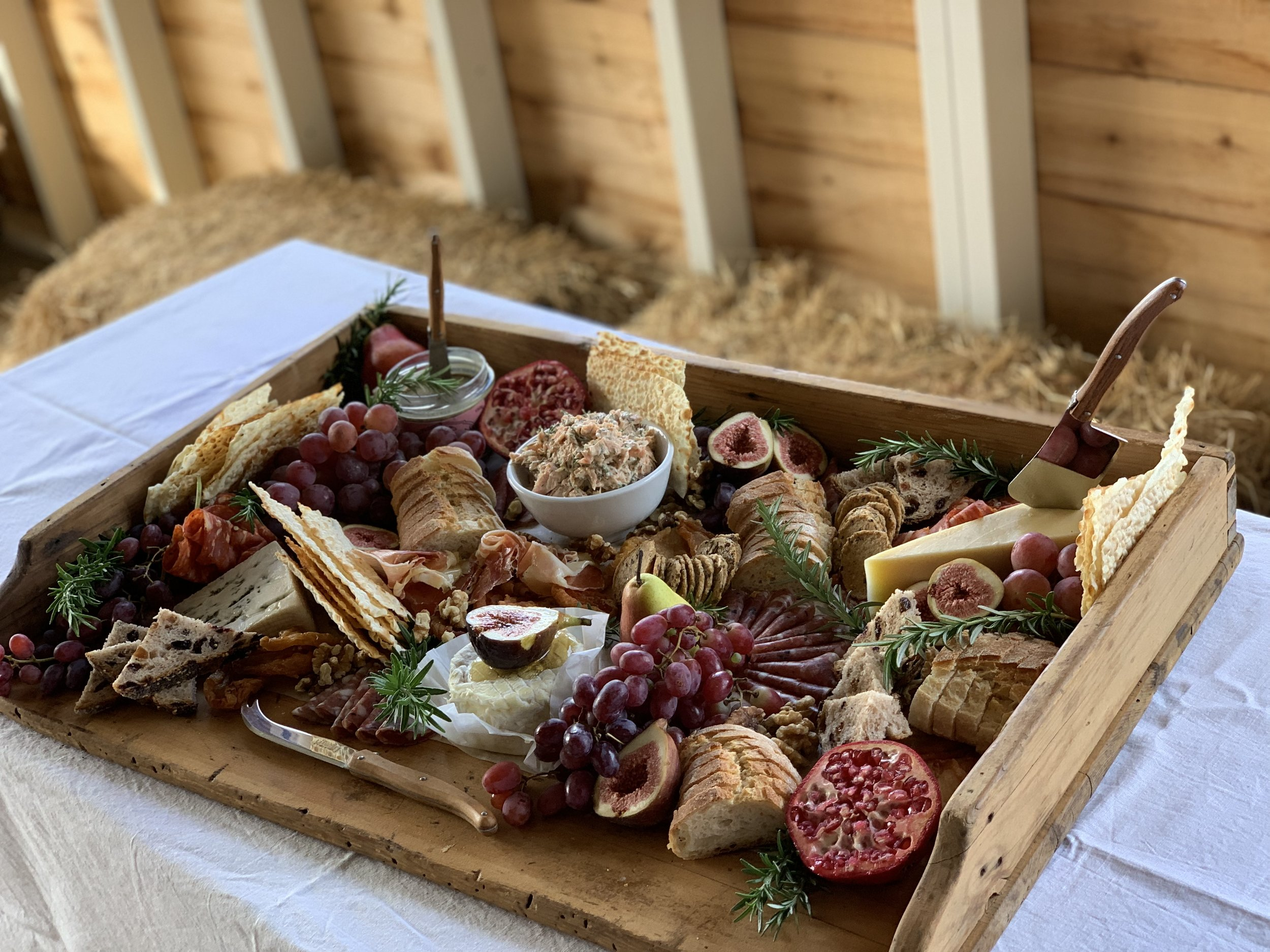 The Pantry - Located in the workshop is the commercial kitchen for The Pantry Phillip Island. During your stay with us, make sure you pre order a grazing platter, we use local and Australian produce where possible.