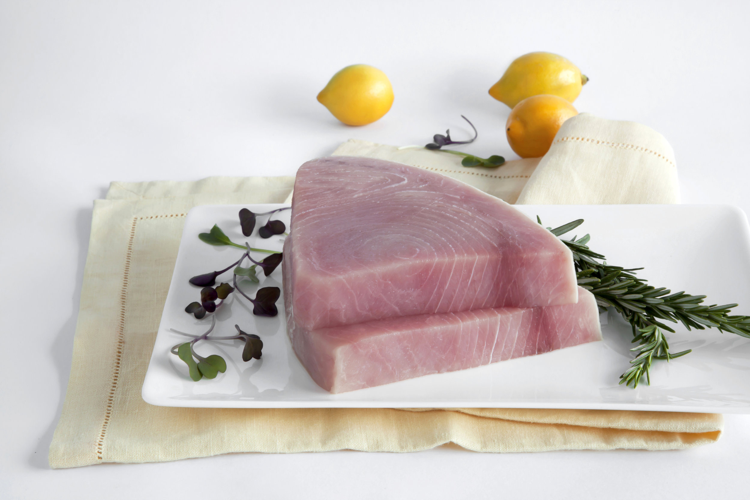 Sashimi Smoke Swordfish Steaks